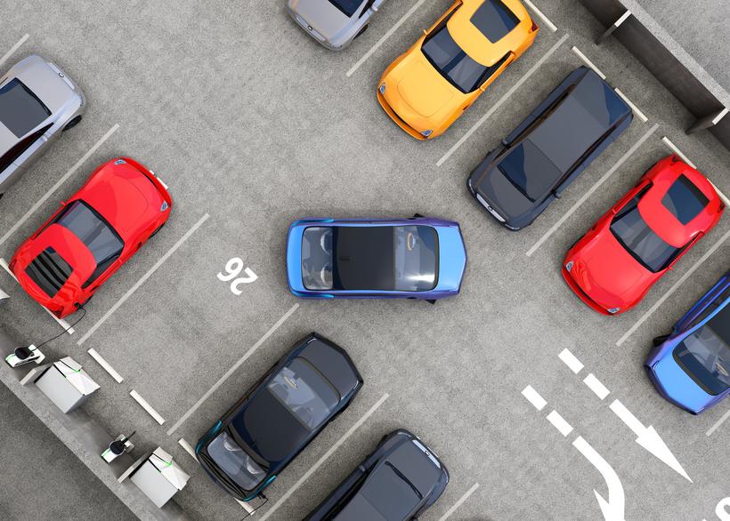 Parkplatzüberwachung schützt vor Falschparkern